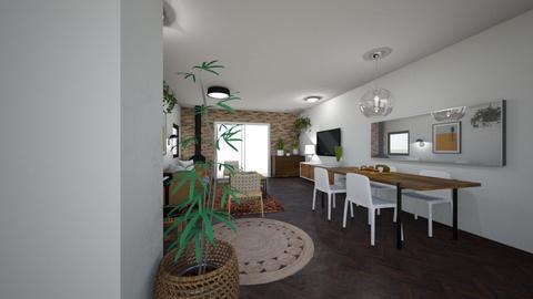 Limor Weissbard 12 - Living room  - by erlichroni