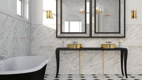 Art Deco Bathroom - by ritsa