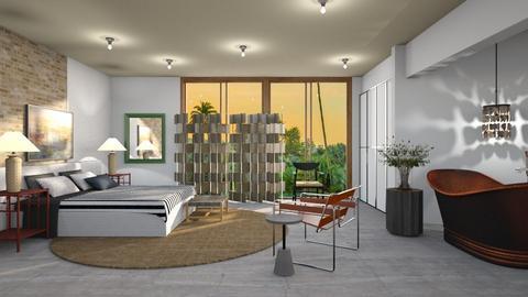 Tropical Coast Bedroom - Modern - Bedroom  - by 3rdfloor