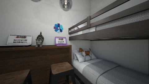 designer twins hidaway - Modern - Kids room  - by spymom473