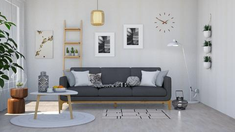 Simply simple living - Minimal - Living room  - by Nina Colin