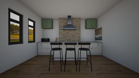 Farmhouse kitchen - by BubbleSloth