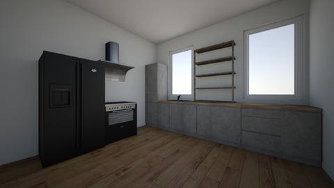 Scandinavian kitchen - Kitchen  - by aorucaliyeva