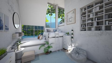 Calm and Quaint - Feminine - Bedroom  - by Dragonets of Destiny