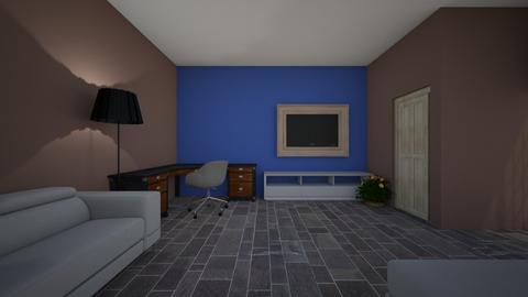 man cave - Office - by isaac27