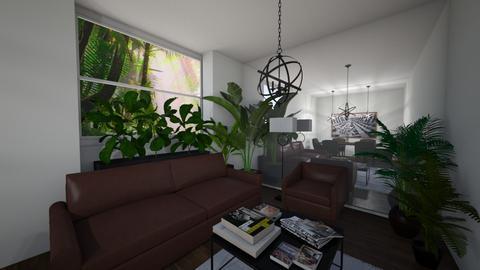 green old room - Masculine - Living room  - by monek299