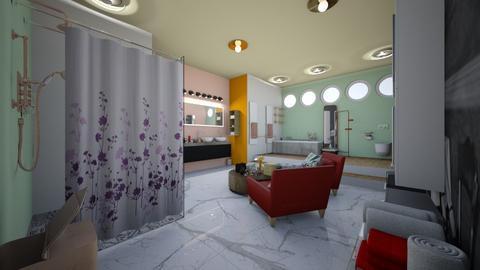 Bathroom  - Modern - Bathroom  - by Ravina_9069
