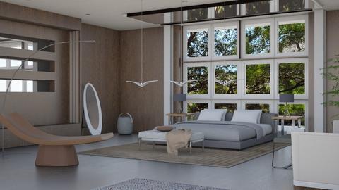 Attic Bedroom - by tika 008