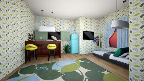 BYG - Bedroom - by CookieMonster1234
