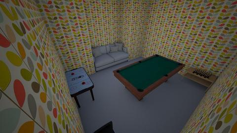 game room - Retro - by KayleeCAT11