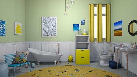 2021 trending bathroom - Modern - Bathroom  - by Irishrose58