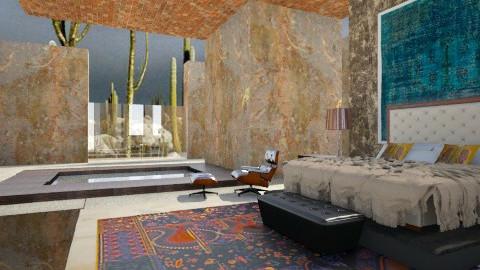 Desert Bedroom - Eclectic - Living room  - by tika 008