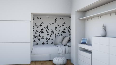 White kids room - Modern - Kids room  - by summer_delia
