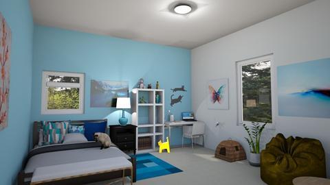 MyRoom Babybluewolfboo - Bedroom  - by Babybluewolfboo