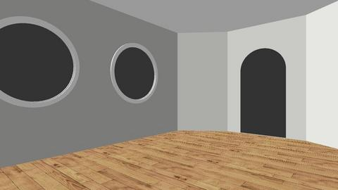 Monochrome Dining Room 1 - Classic - Dining room  - by refrigeratorgirl