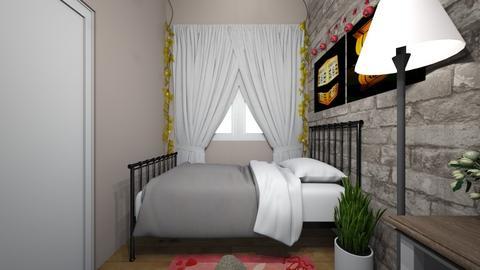 Small room  - Bedroom  - by _friedmomo_