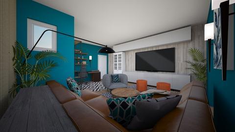 Algu Duncan Living Room - by louisdhe