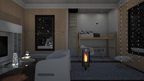 Winter Wood  - Modern - Bedroom  - by RedPandaRooms