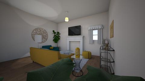 maddie pindell - Living room  - by maddiepindell