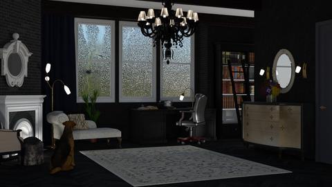 rainy day - by nat mi