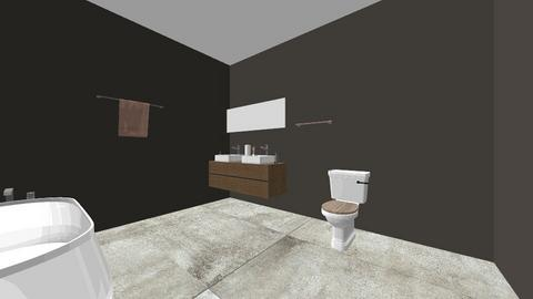 bathroom final - Bathroom  - by shafia