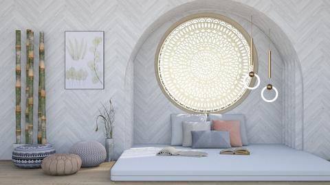 Peaceful Serenity - Modern - Bedroom  - by millerfam
