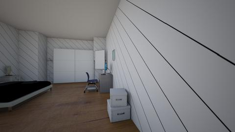 3d room - Bedroom  - by 3li the gamer