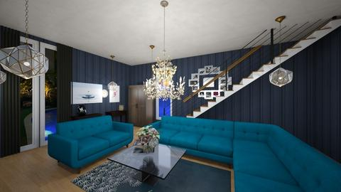 Jade all Day Baby - Living room  - by Eli_Anna