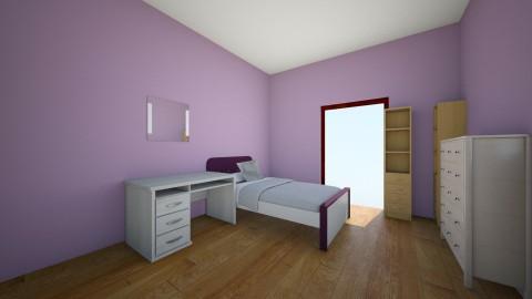 my bedroom - Bedroom - by Zoe Millar
