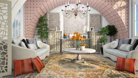 india - Living room  - by iraa