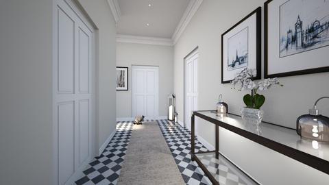 New home hall 1 - by Jade Kate Weeks