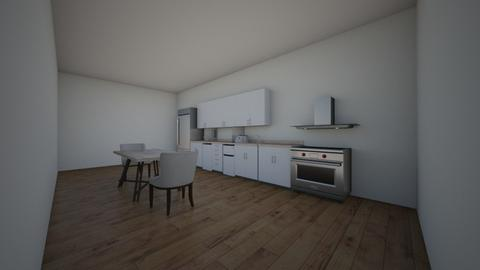 modern kitchen - Modern - Kitchen  - by lviney61