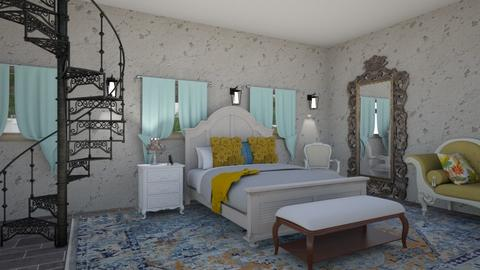 shabby chic - Country - Bedroom  - by steker2344