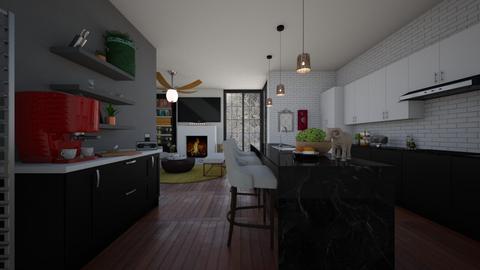 Open concept home - Kitchen  - by nevenadesko