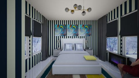 Winter bedroom - Bedroom  - by kwanda01
