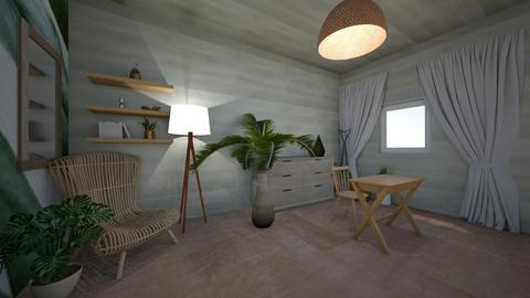Natural Desk Living space - Office  - by hannahelise