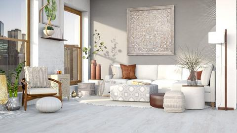 boho_living_contest - Feminine - Living room  - by sam_jbrown