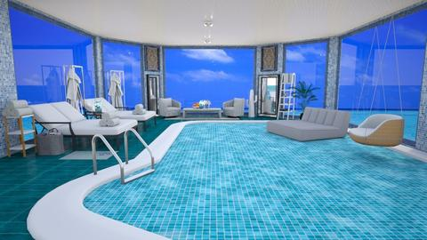 Hotel Pool Template - by Sara87