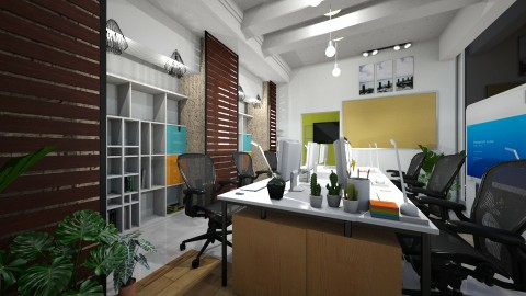 Long Office - by Gener Morales