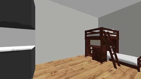 sabas houme - Bedroom  - by ninoshengelia