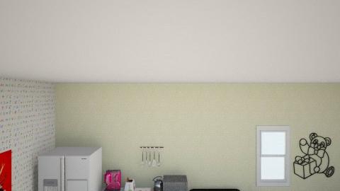 jaymies bedroom - Retro - Kitchen  - by jaymiecuzza