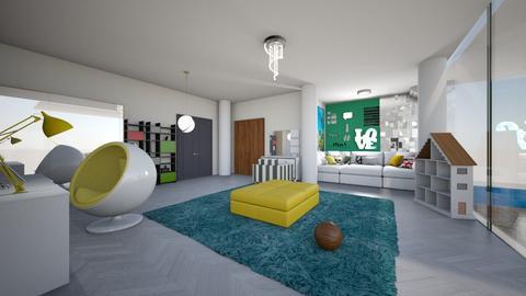 gfkt - Living room - by anaclaraalvesjianelli