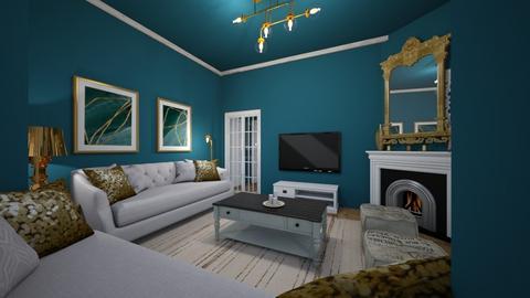 Lauriergracht  - Living room  - by Lisett