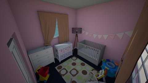 girl bedroom - Kids room  - by thatssooverthetopp