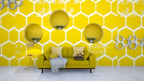 beehive office - Living room  - by cfowle9094