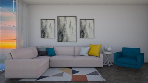 Pastel Living Room - Living room  - by Tanem_Cagla