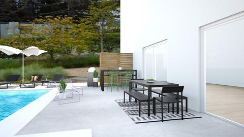 DWR Susan pool area  - Garden - by mikaelawilkins