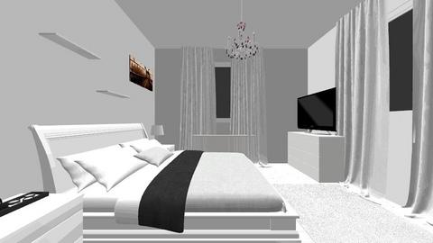 my room2 - Classic - Bedroom  - by KKONCZ