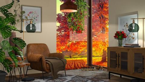 corner - Living room  - by snjeskasmjeska