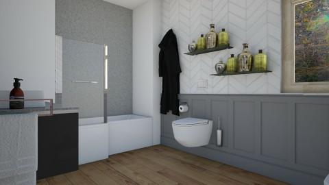 Via Bruno Bruni - Eclectic - Bathroom  - by PROGETIM
